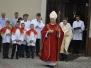 Msza Św. z powitaniem Krzyża Wielkopiątkowego św. Jana Pawła II